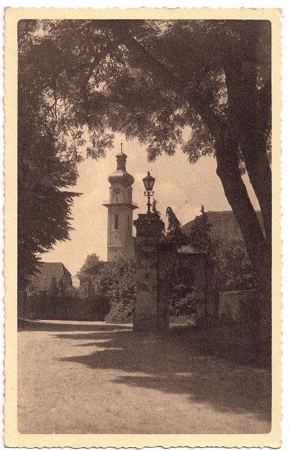 St. Peter und Paul Kirche (Vorderseite der Ansichtskarte)