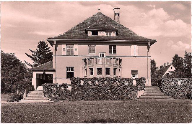 Bürgerheim (Vorderseite der Ansichtskarte)