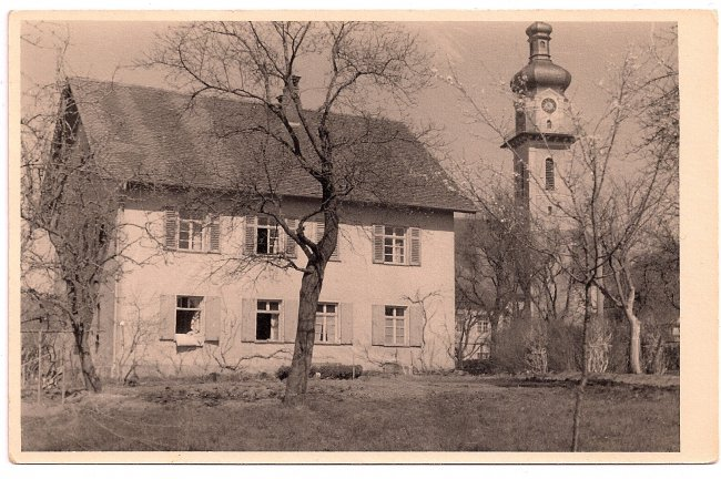 Kaplaneihaus (Vorderseite der Ansichtskarte)