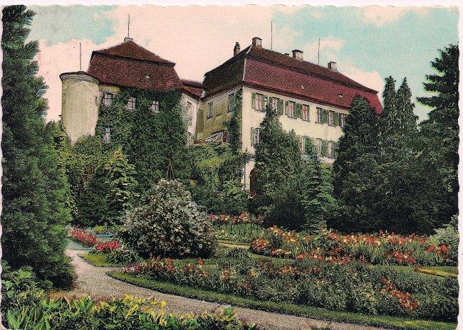 Rosengarten (Vorderseite der Ansichtskarte)