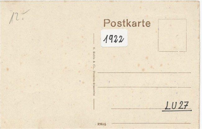 Laupheim - Total (Rückseite der Ansichtskarte)