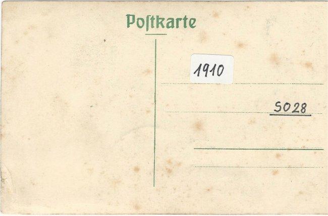 Karl Mußotter, Laupheim (Rückseite der Ansichtskarte)