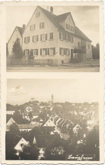 Haus Beck, Pfarrer-Aich-Str. 1 (Vorderseite der Ansichtskarte)