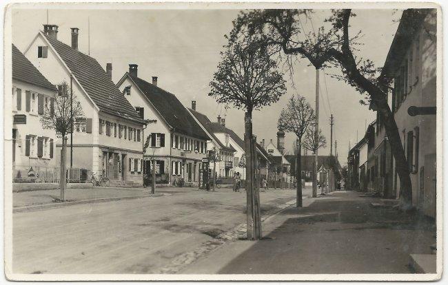 Kapellenstraße (Vorderseite der Ansichtskarte)