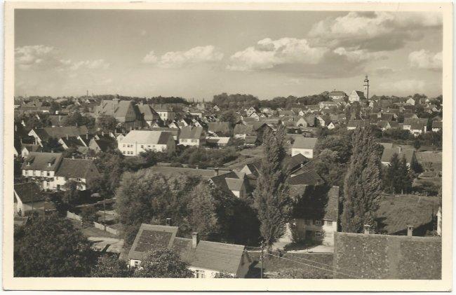 Laupheim (Vorderseite der Ansichtskarte)