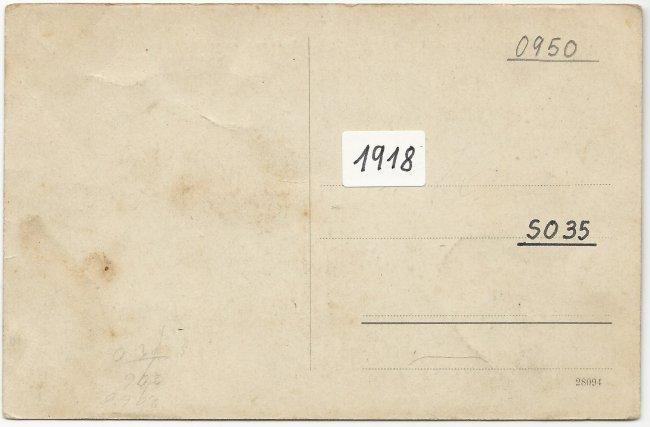Schwabendienst Laupheim (Rückseite der Ansichtskarte)