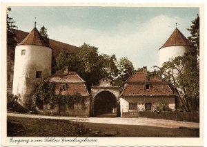 Eingang zum Schloss Grosslaupheim