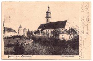 Gruß aus Laupheim Kath. Stadtpfarrkirche