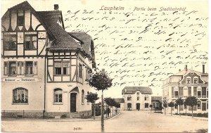 Laupheim - Partie beim Stadtbahnhof