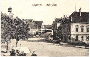 Laupheim - Markt Straße