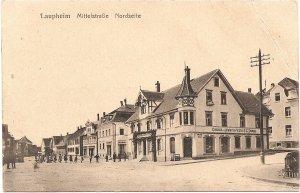 Laupheim, Mittelstraße, Nordseite