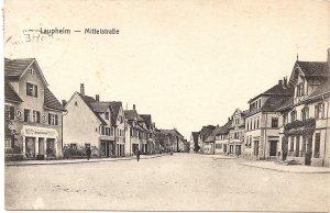 Laupheim - Mittelstraße