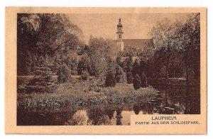 Laupheim - Partie aus dem Schlosspark