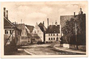 Laupheim, Partie am Marktplatz