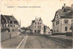 Laupheim, König-Wilhelm- und Schillerstraße
