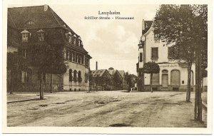 Laupheim, Schiller-Straße - Finanzamt