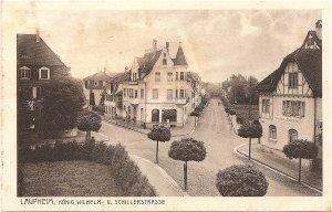 Laupheim, König Wilhelm- u. Schillerstraße