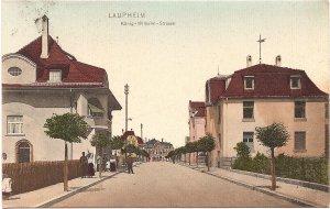 Laupheim, König-Wilhelm-Strasse