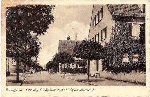 Laupheim, König-Wilhelmstraße m. Gewerbebank