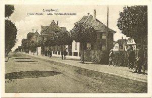 Laupheim, Ulmer Straße - Allg. Ortskrankenkasse