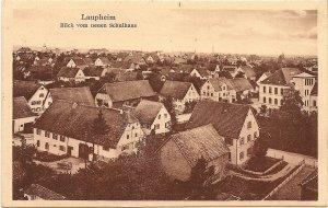 Laupheim, Blick vom neuen Schulhaus