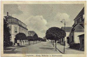 Laupheim - König Wilhelm- u. Schillerstraße
