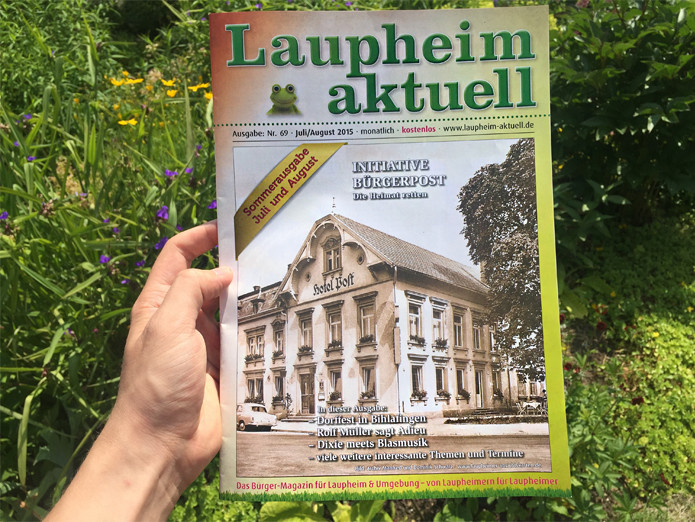 Laupheim Aktuell, Sommerausgabe 2015