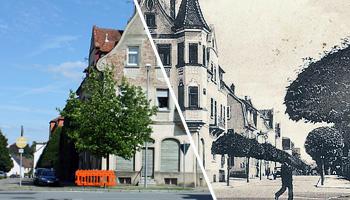 Die Ansichtskartenmotive damals und heute im Vergleich